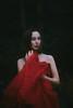 Red (Thomas Oscar Miles) Tags: fineart fashion portraiture red fairytale magic conceptual darkart fear thomasoscarmiles