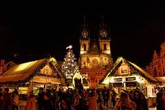 Christmas Market in Prague. (WilliamND4) Tags: lights night nighttime nikond810 christmasmarket prague