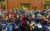 it's a da Vinci (albyn.davis) Tags: people crowd louvre museum art paris france colors vivid travel