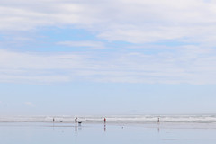 Himatangi Beach ~ New Year's Day 2018 (whitebear100) Tags: himatangi himatangibeach 2018 nz newzealand northisland