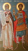 St. Stephen Serbian Orthodox Cathedral Elijah and the Recruit (Jay Costello) Tags: ststephenserbianorthodoxcathedral ststephen serbianorthodox serbian orthodox cathedral church worship god religion fresco lackawanna ny newyork elijah