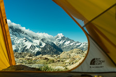 Wilderness (laurencemcdonald) Tags: wanderer walking hiking trekking camping northface north face mtcook nz visitnz newzealand fitness mountaineering moutain clouds sky tent adventure landscape light photography sony science physics climatechange climbing nationalgeographic nature ngc natgeo
