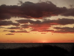 The End (ZoKë) Tags: horizon sea capecod bay cornhill evening afternoon sunset