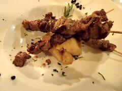 Lamb Brochettes (knightbefore_99) Tags: lamb brochette dario restaurant italy italian tasty best vancouver eastvan delicious great art cuisine food herbs special
