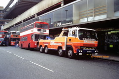 Par for the course (SelmerOrSelnec) Tags: mybus hadfield daimler fleetline jnd981n manchester piccadillybusstation e587bne scammell recovery wrecker breakdown bus greatermanchesterpte greatermanchestertransport gmt gmpte gmbuses gmrecovery towtruck