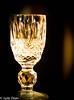 Liqueur glass (judy dean) Tags: judydean 2017 macromondays litbycandlelight liqueur crystal glass