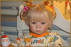 Linchen ... (Kindergartenkinder) Tags: kindergartenkinder annette himstedt dolls weihnachten advent backen plätzchen linchen