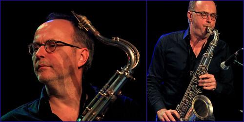 Bart Defoort (ts) Jazz Station Big Band, Centre culturel d'Ans-Alleur, vendredi 03/11/2017.