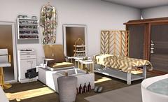 bathroom4 (BradleysDesigns) Tags: bathroom loft spa manicure pedicure massage sauna modern pamper decor decorating homey