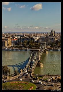 Budapest_Széchenyi híd_Széchenyi bridge_Duna_Danube_Magyarország_Hungary