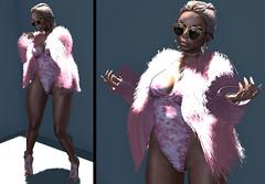 LOTD 461 (Daphne Kyong - The Real Slim Shady) Tags: ryca gold fur pink