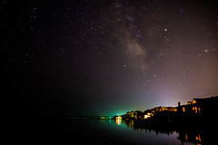 1st attempt at astrophotography (mbinebrink) Tags: astrophotography chincoteague virginia stars bay starrynight night nightsky milkyway