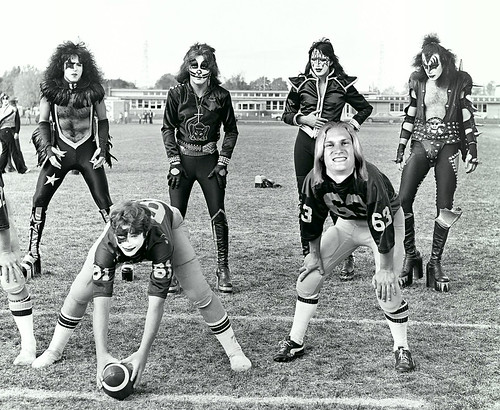Carolina Panthers receiver Brenton Bersin's life was forever changed on October 9, 1975 when KISS visited his Cadillac, MI, high school.