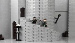 Robin Hood Sword Fight (Eggy Pop) Tags: robin hood errol flynn lego castle