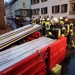 Aufbau Hochwasserschutzwände - 05.01.18 thumbnail