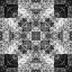2114203022 (michaelpeditto) Tags: art symmetry carpet tile design geometry computer generated black white pattern