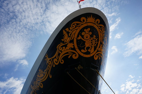"The Bow of the Disney Wonder • <a style=""font-size:0.8em;"" href=""http://www.flickr.com/photos/28558260@N04/27206260399/"" target=""_blank"">View on Flickr</a>"