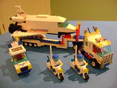 Vintage 1992 Lego set 6346 (tekmoc17) Tags: lego set vintage rare town city brick minifigure space shuttle crew