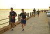Runners from the Citadel (radargeek) Tags: charleston sc southcarolina 2017 august whitepointgarden runner thebattery peace thecitadel