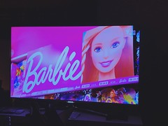 Alright sorry about the #starwars spoiler, here is the replacement, #barbie