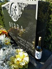 Yogi Berra's grave (NJ Baseball) Tags: 2017 newjersey morriscounty easthanover yogiberra halloffamer sites grave cemetery gravesite yankees newyorkyankees