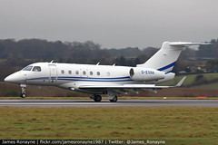G-ESNA | Embraer Legacy 500 | Air Charter Scotland (james.ronayne) Tags: gesna | embraer legacy 500 air charter scotland e550 aeroplane airplane plane aircraft aviation bizav business private vip executive corporate corpjet bizjet luton ltn eggw canon 80d 100400mm raw