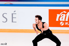 Gabriella Papadakis, Guillaume Cizeron (asveri) Tags: figureskating isufigureskating ifp2017 grandprix grandprixfrance practice internationauxdefrance papadakiscizeron icedance