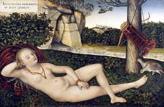 Nymph of the Source (lluisribesmateu1969) Tags: cranach mythology 16thcentury besançon