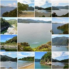 New Zealander journey - Part III (Pedro Nuno Caetano) Tags: fdsflickrtoys newzealand queencharlottedrive journey mosaic