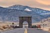 Leaving the North Entrance at sunset (YellowstoneNPS) Tags: gardiner jacobwfrank montana northentrance ynp yellowstone yellowstonenationalpark fall