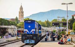 HŽ PP 2044 008, Split, 7.2016. (deniob86) Tags: locomotive diesel emd gm gt22hw2 2044 split croatia hrvatska lokomotiva dizel d3200 adria vlak voz train hž