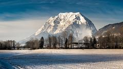 Grimming (Bernd Thaller) Tags: landscape nikon d850 mountain grimming styria austria ennstal snow sky blue white black 100megapixels highresolution 10000px