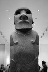 IMG_3972.jpg (Bri74) Tags: archeology britishmuseum bw london moai sculpture statue unitedkingdom