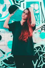 (alexrf96) Tags: alexrf96 aleruiz alexruiz alejandroruiz alejandroruizfernándezdeangulo photo photograph foto fotografía canon canonista picoftheday sevilla seville andalucía andalusia españa spain retrato portrait girl woman mujer chica redhead pelirroja urban model modelo vintage colors colorful skatepark skate graffitti streetart artecallejero