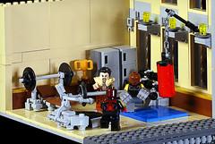 Gym (Frost Bricks) Tags: lego gym moc
