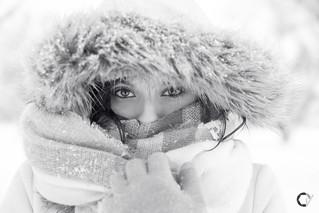 Maite Bajo la Nieve.