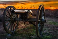 Perryville Battlefield State Historic Site (sniggie) Tags: battleofperryville civilwar kentucky perryvillebattlefieldstatehistoricsite dusk sunset cannon autumn nationalhistoriclandmark kentuckystateparks