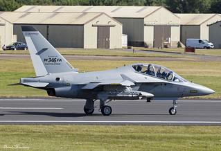 Italian Air Force Alenia Aermacchi Leonardo M-346FA MT55219