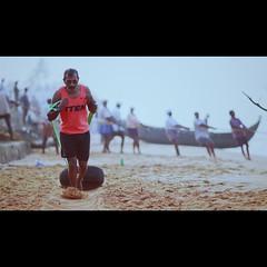 (anil bhatt) Tags: 77d 135mm morning pull run sand shankumugham beach trivandrum india vsco cinematic canon