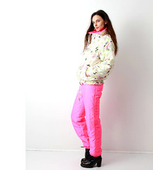 il_fullxfull.1374807066_26ld (onesieworld) Tags: exy retro 80s 90s fashion port skisuit onepiece onesie snowsuit woman babe catsuit shiny nylon ski