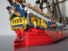 LEGO Ideas Tall Ship (sebeus) Tags: lego ideas tall ship pirate pirates barque sails