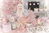 Pink Christmas (Gabriella Marshdevil ~ BUSY IRL) Tags: sl secondlife cute christmas halfdeer tsg ayashi kawaii doll hazy