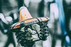 Comfort Suspension (*Capture the Moment*) Tags: 2017 brooks bern berne bicycle bicyclesaddle bicycleseat fahrrad fotowalk mog mogprimoplan1975neo meyeroptikgörlitzprimoplan1975neo sattel schweiz sonya6300 sonyilce6300 switzerland vintage