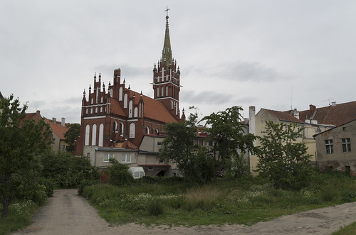 View to St. Catherine Church, 22.06.2017.