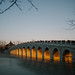 17-Arch Bridge before sunset, summer palace