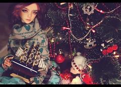 Happy New Year! (noir_saint_lilith) Tags: dollphotography doll dollmore dollportrait zaollluv zaoll bjd happynewyear