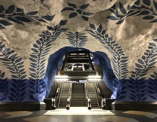 Stockholm underground art #1