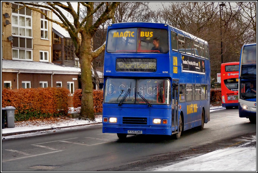 Stagecoach Manchester 16795. (PS_Bus_Driver) Tags: stagecoachmanchester  16795 p725gnd volvoolympian alexanderrltype magicbus