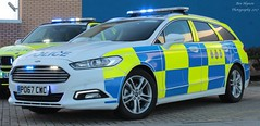 PO67 CWC (Ben - NorthEast Photographer) Tags: cleveland police ford mondeo dog section dsu support unit 999 emergency vehicle 2017 late brand new