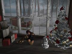 Waiting For Sleigh Bells (Flawless Developments) Tags: arcade truth maitreya krescendo studioskye birdy mila scarletcreative pocketgacha spotcat laq blog blogger pocket gacha scarlet creative second life video gam game